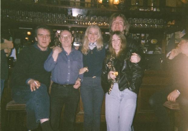 Londra con Paul Cox e Brendan Hoban