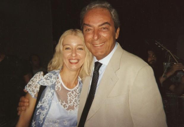 Mary con Daniele Piombi