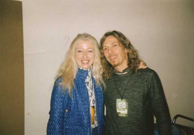 Mary con Egidio Borri