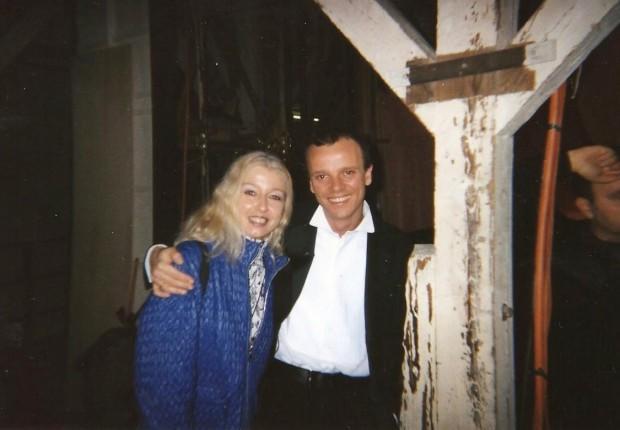 Mary con Gigi D' Alessio
