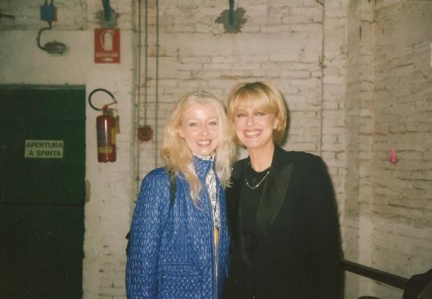 Mary con Loretta Goggi