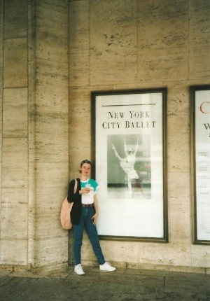 New York davanti all'American Ballet
