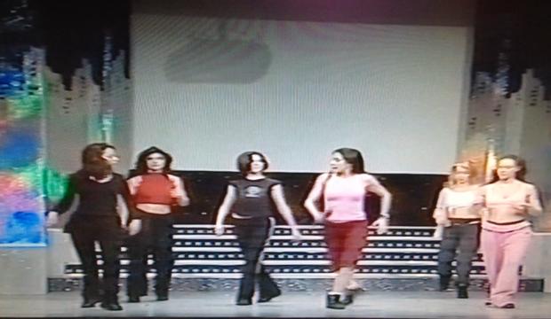 TV BAGAGLINO coreografia Roma 2002 (1)