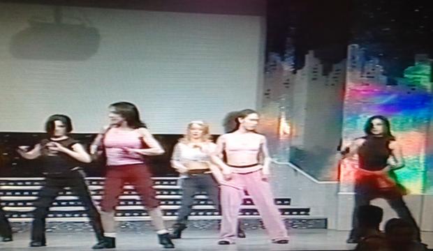 TV BAGAGLINO coreografia Roma 2002 (4)