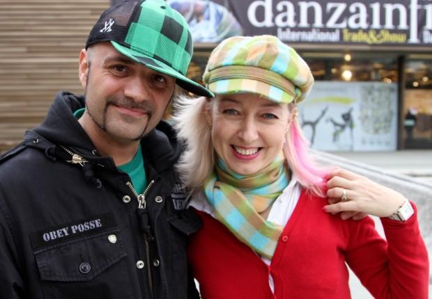 con OMID a Danza in Fiera 2010