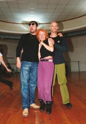 con Roberto Croce e Christian