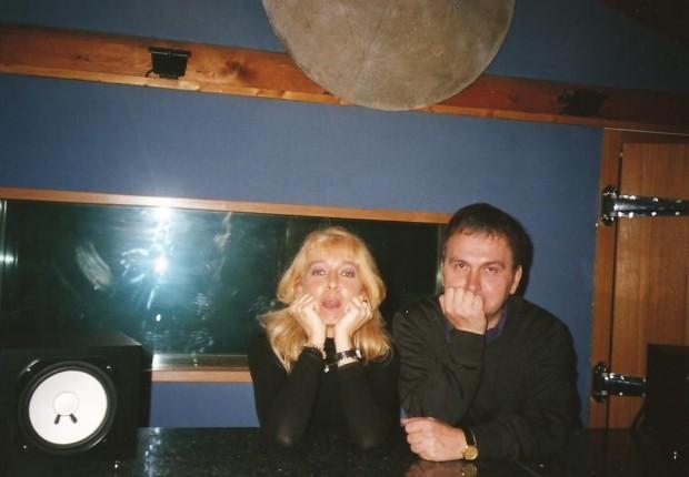 in studio con Beppe Tinti