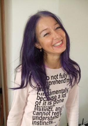 io capelli viola