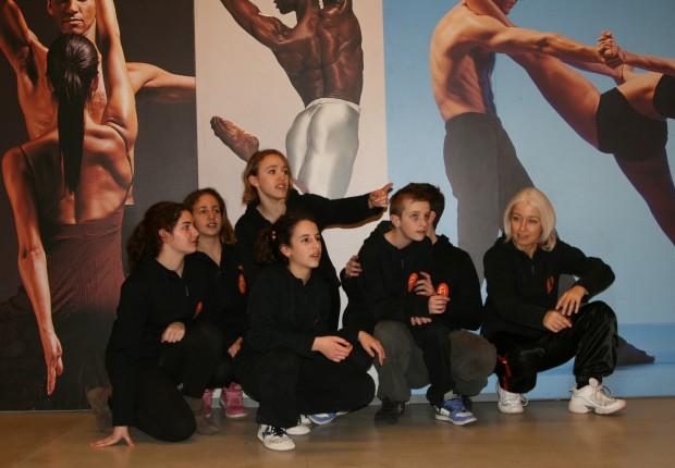 Con gli allievi – Danza in Fiera 2012
