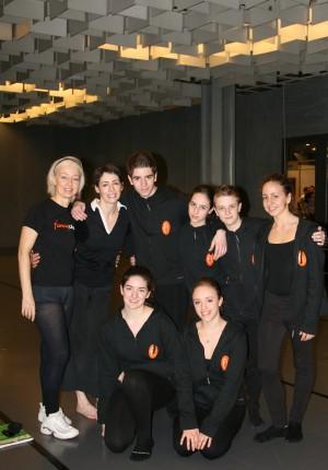 Con gli allievi e CHERYL THERRIEN – Danza in Fiera 2012