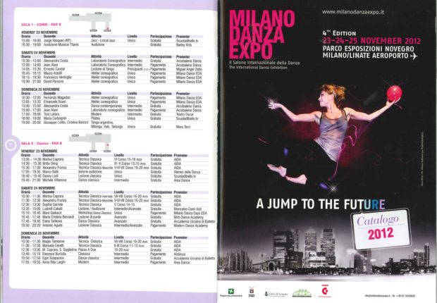 locandina EXPO DANZA MILANO 2012