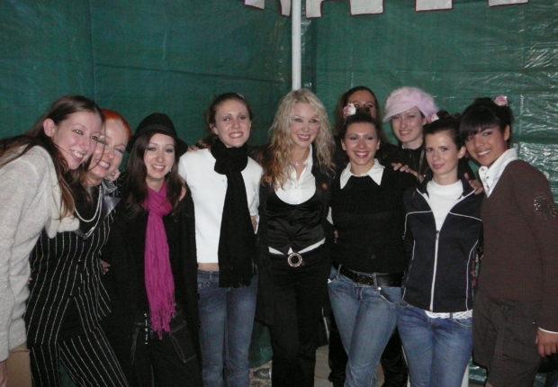 con Ivana Spagna 4 nov 2007