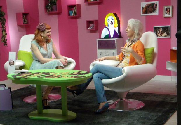 con Lina in trasmissione