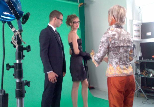 il back stage dello spot con Giulia Nicole Magro